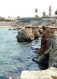 Ancient  Caesarea port Stock Image