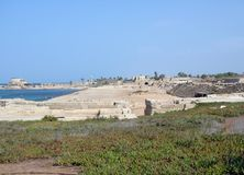 Ancient  Caesarea Stock Images
