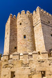 Ancient Calahorra Tower Roman Bridge Cordoba Spain Stock Photo
