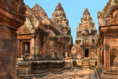 Ancient Cambodian temple Stock Image