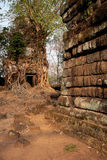 Ancient cambodian temple Royalty Free Stock Image