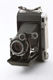 The ancient camera. The camera Photo Ancient Object on a white background Stock Image