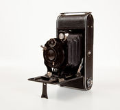 Ancient Camera in side view Royalty Free Stock Photography