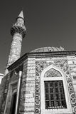 Ancient Camii mosque, facade fragment photo Royalty Free Stock Photo