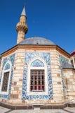 Ancient Camii mosque facade and minaret, Izmir Royalty Free Stock Images