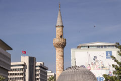 Ancient Camii mosque on Konak square, Stock Image