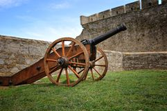 The ancient cannon Stock Photos