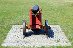 Ancient Cannon. At the Kastellet fortification in Copenhagen, Denmark royalty free stock photo