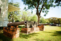 Ancient cannon Stock Photography