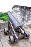 Ancient cannon Royalty Free Stock Photography