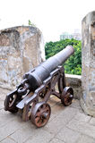 Ancient cannon Stock Image