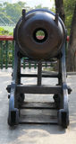 Ancient cannon in the Chinese museum outdoor Stock Images