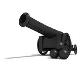 Ancient cannon. Stock Images