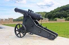 Ancient cannon, Lviv, Ukraine Royalty Free Stock Photo