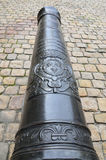 Ancient cannon of Musee de l'Armee in Paris Royalty Free Stock Photography