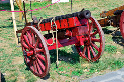 Ancient cannons Royalty Free Stock Image