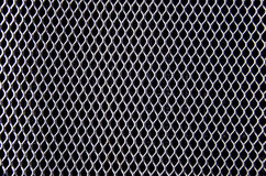 Ancient car bumper metal grating background Royalty Free Stock Photo