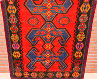 Ancient carpets royalty free stock photo