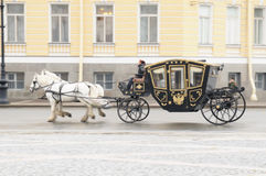 The ancient carriage royalty free stock photography