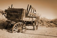 Ancient carriage Stock Images