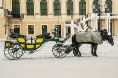 Ancient carriage Royalty Free Stock Image