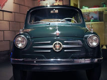 Ancient cars at car museum in Turin Stock Images