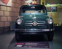 Ancient cars at car museum in Turin Stock Photos
