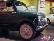 Ancient cars at car museum in Turin Royalty Free Stock Images