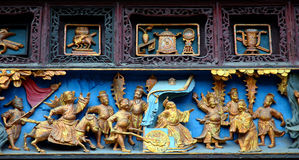 Ancient carving Royalty Free Stock Images