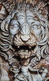 Ancient carving Stock Photography