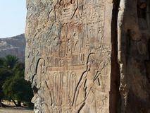 Ancient Carvings Stock Photography