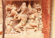 Ancient carvings inside this stunning 8th-century Gwalior fort M Stock Images