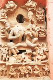 Ancient carvings inside this stunning 8th-century Gwalior fort M Royalty Free Stock Photos