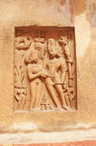 Ancient carvings inside this stunning 8th-century Gwalior fort M Stock Image