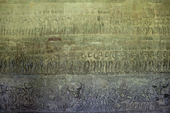 Ancient carvings Stock Image