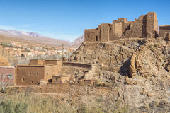 Ancient casbah building, Morocco Stock Photography