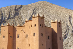 Ancient casbah building, Morocco Stock Image