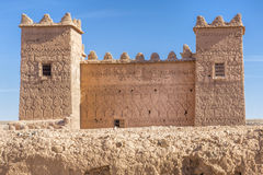 Ancient casbah building, Morocco Royalty Free Stock Photography