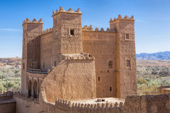 Ancient casbah building, Morocco Royalty Free Stock Images