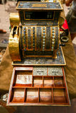 Ancient cash register, rarity.  Royalty Free Stock Image