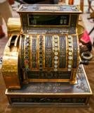 Ancient cash register, rarity Stock Photography