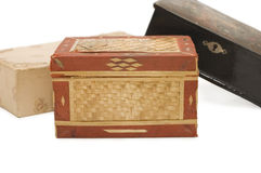 Ancient casket Stock Photography