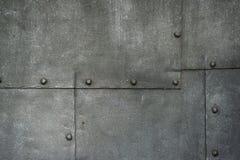 Ancient Cast Iron Door Background Stock Photography