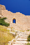 Ancient castle. Stone wall of the ancient castle Stock Photo