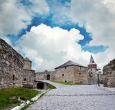 Ancient castle. In Kamyanets-Podilsky. National heritage, photography is allowed Royalty Free Stock Photos