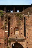 Ancient castle. Sforza Castel in Milan Italy Royalty Free Stock Images