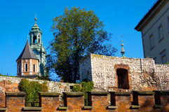 Ancient castle Stock Image