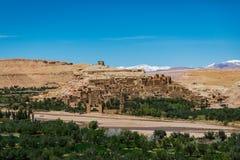 Ait Ben Haddou. Ancient castle Ait Ben Haddou Stock Photo