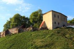Ancient Castle , Belarus Royalty Free Stock Photo