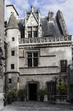 An ancient castle. In the center of Paris Stock Images